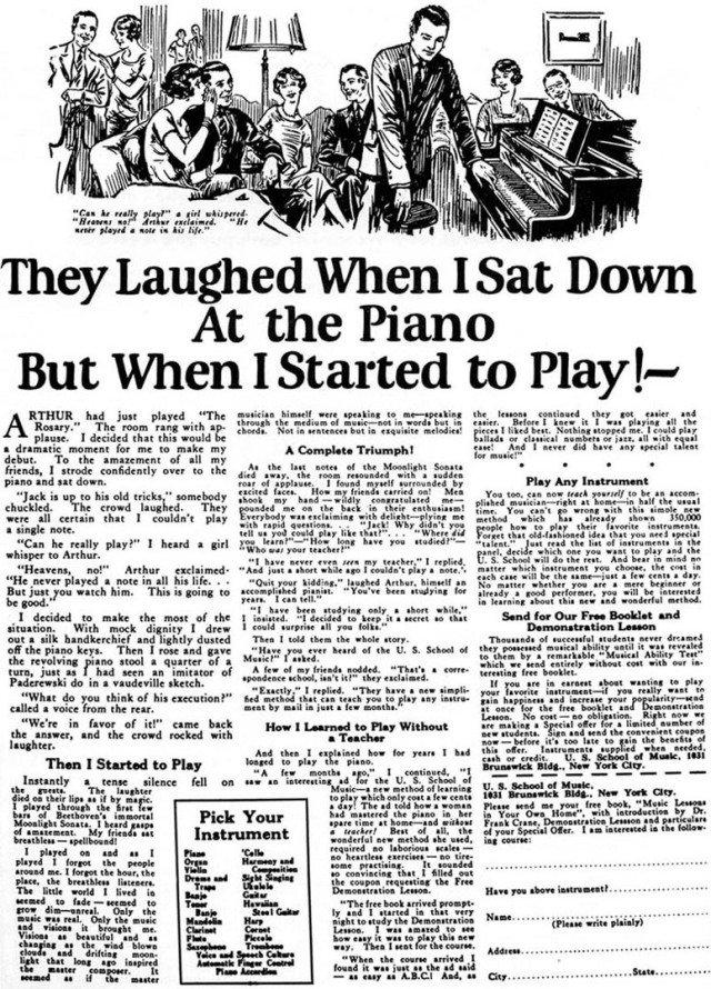 anuncios copywriting 1926