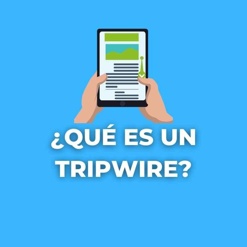 qué es un tripwire