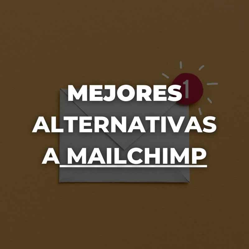 mejores alternativas a mailchimp